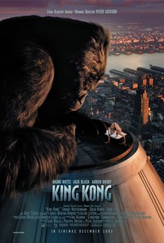 King Kong is a 2005 fantasy adventure film directed by Peter Jackson. It is a remake of the 1933 film of the same name and stars Naomi Watts, Jack Black and Adrien Brody