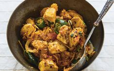 Curries with 