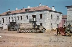 Sd kfz 9 18 ton FAMO, Crimea 1942, pin by Paolo Marzioli