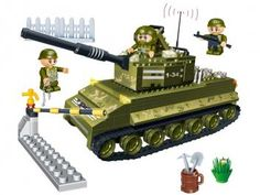 Força Tática Tanque de Guerra 260 Peças - BanBao