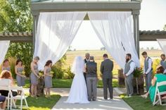 Ceremony Site on a beautiful summer day! Weddings at Todd Creek Golf Club in Thornton, Colorado.