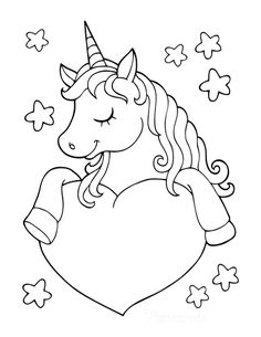 380 Coloring Pages Unicorns Rainbows Ideas In 2021 Coloring Pages Unicorn Coloring Pages Coloring Pages For Kids