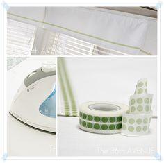 The 36th AVENUE | Washi Tape Window Treatment. | The 36th AVENUE