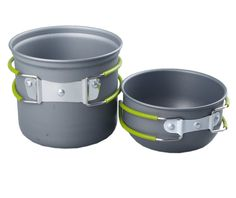 22JAN15 Amazon.com $10.99 & FREE Shipping on orders over $35  2-pc pot system  NuoYa001 Picnic Camping Hiking Backpacking Pot Pan Cookware Outdoor Cooking bowl set : Camping Pots And Pans : Sports & Outdoors In stock on January 30, 2015.  Order it now.