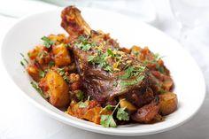 slow cooked greek lamb