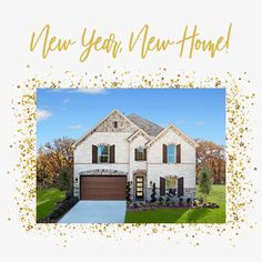 Want to start the new year with a new home?! We can make your dream come true! Prices rising so ACT FAST! Visit us to tour our move-in ready homes before they are gone OR call 866.314.4477 today to schedule an appointment! Media Rooms, Beautiful Dining Rooms, House Elevation, Brick And Stone, Outdoor Settings, Dream Bathrooms, New Homes For Sale, Model Homes