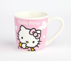 Hello Kitty Petite Ceramic Mug: Pink