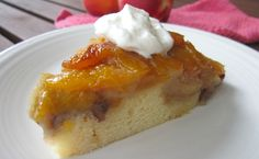 This slow cooker dessert can be made with fresh or frozen peaches   TASTE