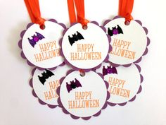 Halloween Tags  Halloween Gift Tags  Halloween by MyPrettyPaper