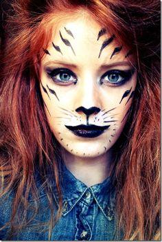 Resultado de imagen de maquillaje tigre