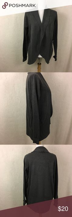 ba2609b85d3050 Say What Cardigan Size Large NWT Size Large Dark gray Has two pockets NWT  Length-