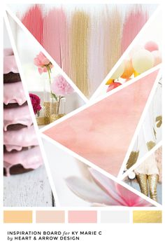 Color Inspiration Board for Ky marie C Blog