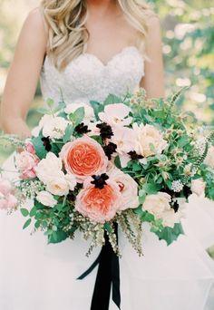Featured Photographer: Carmen Santorelli; Wedding bouquet idea.