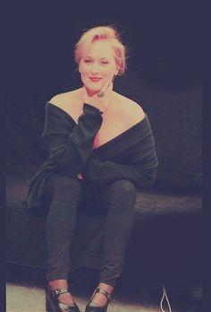 Stunning, Meryl Streep