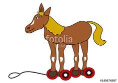 Pferd Nachziehtier