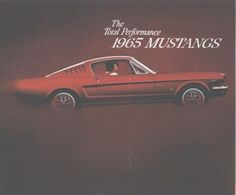 1965 Ford Mustang Fastback  Our first car and second car!!
