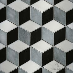 Euclid Stone Mosaic - Illusions™ Collection | New Ravenna