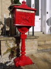 Aluminium Post Box