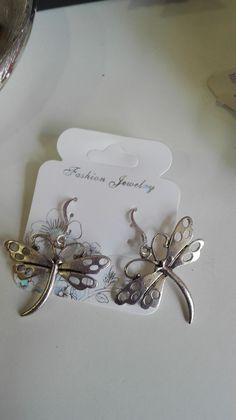 Pendientes de libélulas