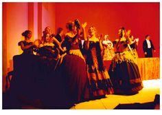 Summer opera production, 'La Traviata,' Gulbenkian Theatre, 1996 ?