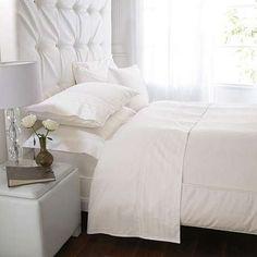 Hotel Cream Stripe 300 Thread Count Bed Linen Collection | Dunelm