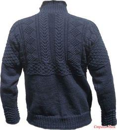 Всех приветствую!!! Продолжаю свой рассказ про Ганзейский рыбацкий свитер. Начало было здесь http://www.stranamam.ru/  Особенности вязания.