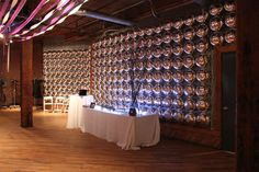 mylar balloon wall party decor