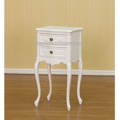 French Bedside Table 2 Drawers 1137 460x275