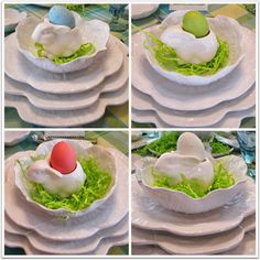 JBigg's Little Pieces: Spring to Easter Tablescape in Just A Hop