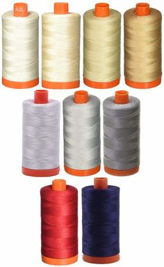 Best Thread for Quilting - We've put together some of our favorite tried and tested quilting threads that you can use for different kinds of quilting. Quilting Thread, Quilting Tips, Hand Quilting, Embroidery Thread, Machine Quilting, Quilting Projects, Unique Colors, Neutral Colors, Colorful Quilts