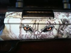 1x3in PQ Weapon Decal Coyote Hunting, Mustang, Weapons, Decals, Eyes, Weapons Guns, Mustangs, Guns, Tags
