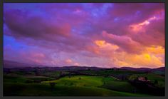 Tuscany Evening