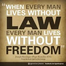 law and freedom relationship quotes