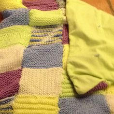 Blanket #1 for a set of identical twin boys!