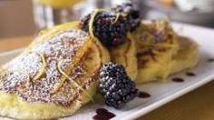 Chef Vosika's famous Lemon Ricotta Hotcakes. Melt-in-your-mouth good!