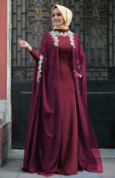 Jual Baju Gamis Ismaya Maroon - http://tokogamismodern.com/jual-baju-gamis-ismaya-maroon/