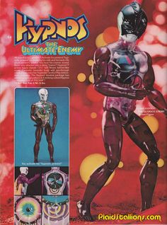 Hypnos action figure from Mattel. Childhood Toys, Childhood Memories, Star Trek Captains, Monster Toys, Old School Toys, Space Toys, Star Wars, Marvel Comic Books, Sideshow Collectibles