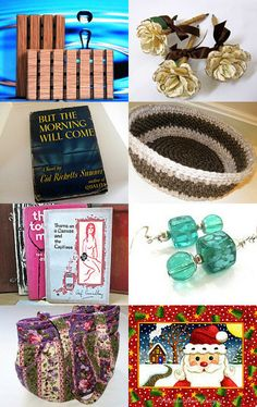 Gift Ideas from Maine by #Grandmasandeze #MaineTeam #EtsyTreasury #Maine #GiftsFromMaine