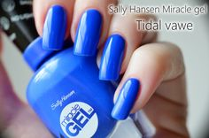 PetraLovelyHair: Sally Hansen Miracle Gel - recenze a swatch Sally Hansen, Petra, Swatch, Wave, Nail Polish, Make Up, Nail Art, Nails, Blog
