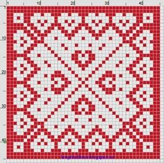 Bilderesultat for heklet hjerte gryteklut Knitting Charts, Easy Knitting, Double Knitting, Knitting Patterns, Crochet Kitchen, Crochet Home, Cute Crochet, Biscornu Cross Stitch, Cross Stitch Patterns