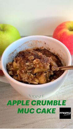 Microwave Mug Recipes, Fun Baking Recipes, Kitchen Recipes, Sweet Recipes, Cooking Recipes, Healthy Sweet Snacks, Healthy Food, Delicious Deserts, Yummy Food