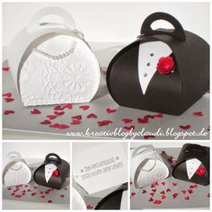 8/31/2014; Claludia Maser at 'Creative Blog by Claudi' blog; Curvy Keepsake Box Thinlits dies  in the 2014 Holiday Catalog; very creative!