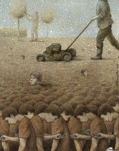 30 Illustrations By Pawel Kuczynski Showing What's Wrong With Modern Society The Polish artist Pawel Kuczynski is an absolute master, combining satire