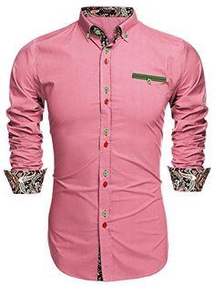 Coofandy Men's Fashion Slim Fit Dress Shirt Casual Shirt ... http://www.amazon.com/dp/B01D9GOPJ8/ref=cm_sw_r_pi_dp_q-wjxb1AZJKM3