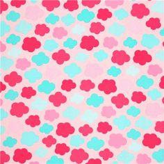 pale pink cloud flannel fabric Robert Kaufman Sorbet