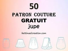 les 50 plus beaux patron gratuit pour se faire une jupe Baby Couture, Couture Sewing, How To Make Skirt, How To Get, How To Apply Mascara, Sewing For Kids, Diy Clothes, Beauty Hacks, Diy Beauty