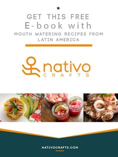 Love to cook? Then you need to download this FREE e-book with 18 delicious recipes inspired by Latin flavors | ¿Te encanta cocinar? Entonces tienes que descargarte este e-book gratis con 18 deliciosas recetas inspiradas en los sabores de Latinoamérica