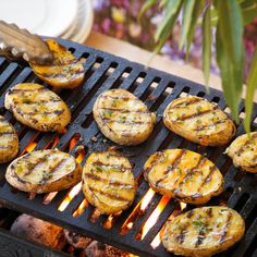 grilled yellow potato planks sm