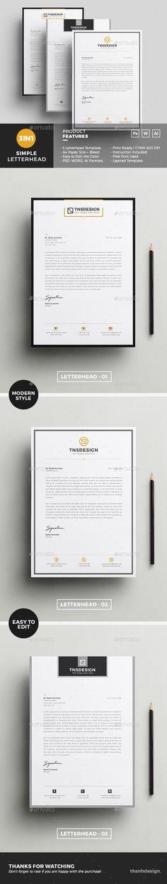 #Letterhead Template Free Letterhead Template Word, Letterhead Design, Best Resume Template, Stationery Printing, Stationery Items, Stationery Templates, Letter Templates, Print Templates, Design Templates