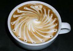 cappuccino art - Spin